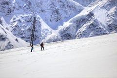 caucasus duże krajobrazowe halne góry Fotografia Royalty Free