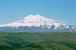 caucasus elbrus mt royaltyfri foto