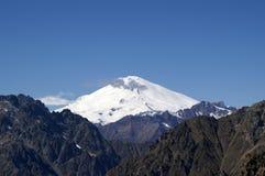 caucasus elbrusberg arkivbilder