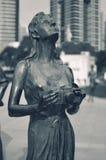 caucasus essentuki północna Russia rzeźby kobieta Obrazy Stock