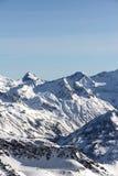 caucasus Georgia gudauri gór zima Zdjęcia Royalty Free