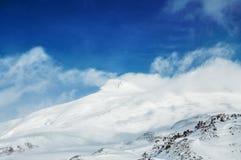 caucasus Georgia gudauri gór zima Obrazy Royalty Free