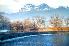 caucasus Georgia gudauri gór zima Norwegia Zdjęcie Stock