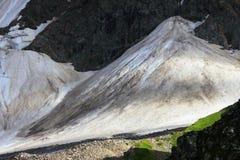 Caucasus Glacier Royalty Free Stock Photos