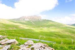 Caucasus green mountains Stock Photo