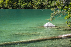 Caucasus. A Lake in Mountains Royalty Free Stock Image