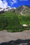 Caucasus landscape Stock Image