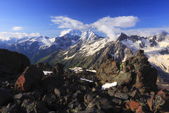Caucasus landscape Royalty Free Stock Image