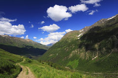 Caucasus Landscape Royalty Free Stock Images