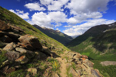 Caucasus landscape Royalty Free Stock Photo