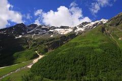caucasus liggande Royaltyfria Foton