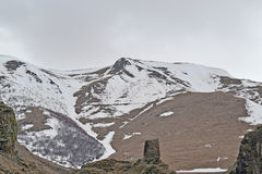 caucasus maximal snöig Royaltyfria Bilder