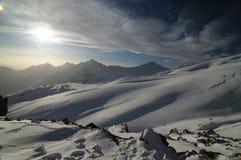 caucasus montains Arkivfoto