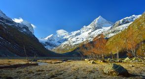 Caucasus morning Royalty Free Stock Images