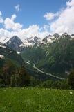 Caucasus mountain Stock Images