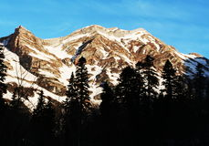 Caucasus mountain Royalty Free Stock Image