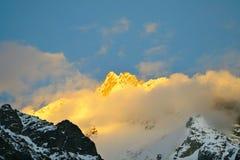 Caucasus mountain Stock Photo
