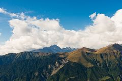 Caucasus mountain landscape Stock Photography