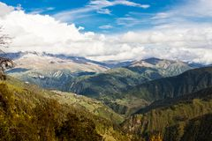 Caucasus mountain landscape Royalty Free Stock Image