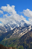 Caucasus mountain peaks Stock Photos