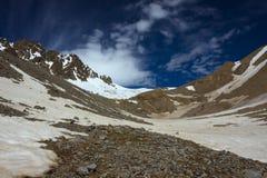 Caucasus mountain range Stock Image