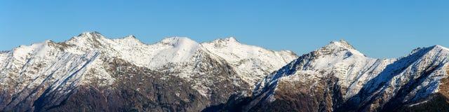 Caucasus mountain range Royalty Free Stock Image