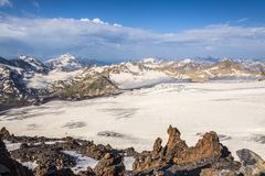 Caucasus Mountain Range Stock Images