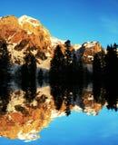 Caucasus mountain on sunrise Stock Image