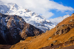 Caucasus mountains-1 Stock Photography