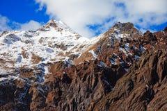 Caucasus mountains-14 arkivfoto