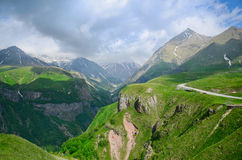 Caucasus mountains Royalty Free Stock Photo