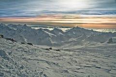 Caucasus Mountains Royalty Free Stock Photos