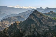 Caucasus Mountains Stock Photography