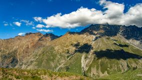 Caucasus mountains. Beauty world. Stock Photography