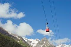 Caucasus Mountains. Dombai Royalty Free Stock Photography