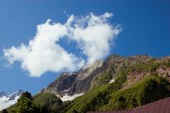 Caucasus Mountains. Dombai Stock Photo