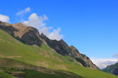 Caucasus mountains Dombai Stock Photos