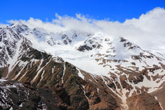 Caucasus mountains Dombai Stock Image