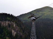 Caucasus Mountains, Dombay. Dombay, the border of the Republic of Karachay-Cherkessia and Abkhazia. Photo taken on:  July 26 Friday, 2013 Stock Image