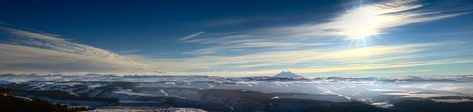 Caucasus Mountains, Elbrus Royalty Free Stock Photos
