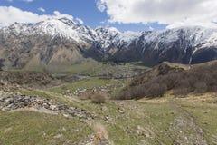 Caucasus mountains, Georgia Stock Photo