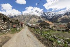 Caucasus mountains, Georgia Stock Photos