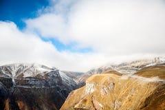Caucasus mountains in Georgia Stock Image