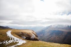 Caucasus mountains in Georgia Stock Images