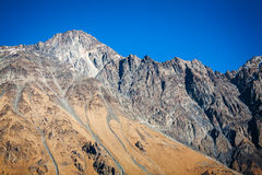 Caucasus mountains in Georgia Royalty Free Stock Image