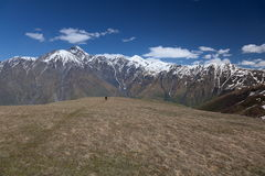 Caucasus Mountains Khevi region. Georgia. Stock Photography