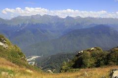Caucasus Mountains. In Krasnaya Polyana Stock Photos