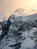 Caucasus Mountains. Mountains, mountainous region of the Central Caucasus Bezengi Stock Images