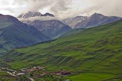 Caucasus mountains of the North Caucasus Stock Image