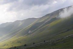 Caucasus mountains. Before the rain, caucasus mountains Royalty Free Stock Photo